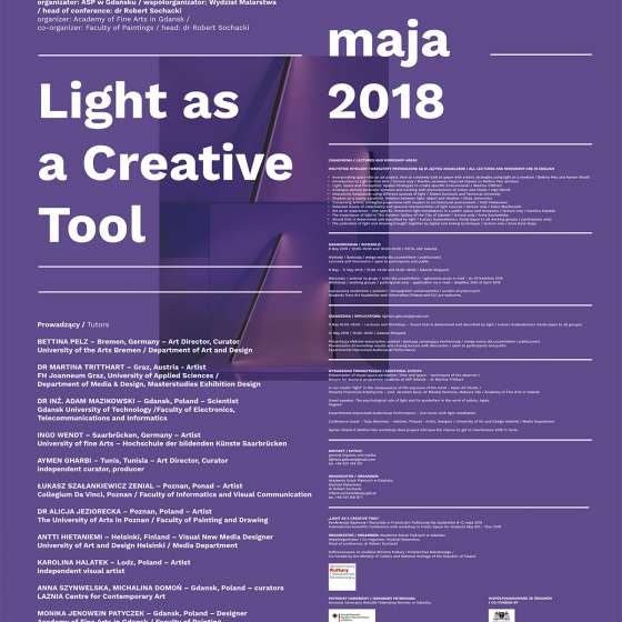 Light as a Creative Tool