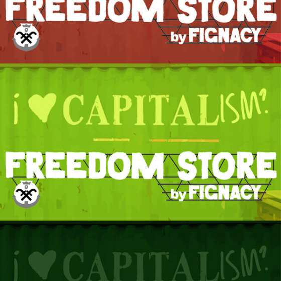 FIGNACY FREEDOM STORE w 100czni